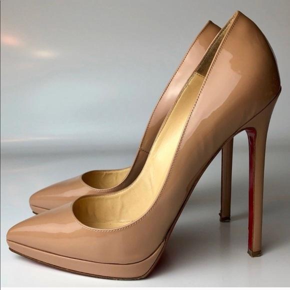 3bfcd55de481 Christian Louboutin Shoes - Louboutin Pigalle Plato 😍 37
